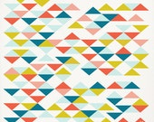 Triangle Pattern Poster, Abstract Art Print, Triangle Print, Nursery Decor, Wall Decor, Geometric Art Print, Modern Art, Triangles, Modern