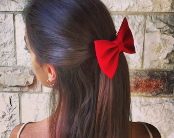 Big dramatic RED BOW