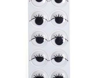 18mm Wiggly Eye Lashes (20pc)