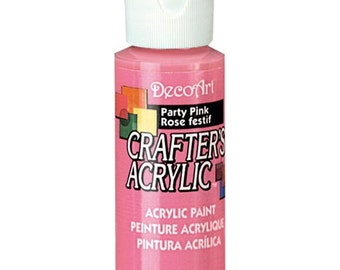 Pink Acrylic Paint (2oz)