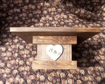 Wooden Wedding Cake Stand/ Rustic Wedding Cake Stand/Pedestal Cake Stand