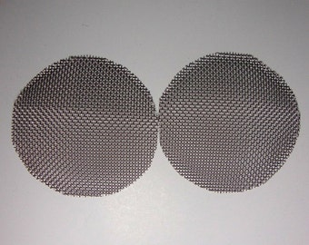 Steel metal waspeye addition for goggles - see through