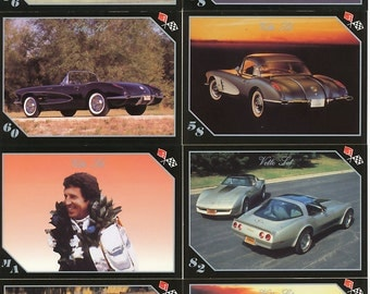 "1991 Corvette ""Vette Set"" Trading Card Set"