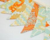 Bright and Cheerful Party Bunting - HEIRLOOM - The perfect decoration for Weddings, Showers and Parties