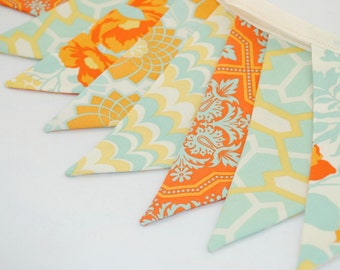 ON SALE *** Bright and Cheerful Party Bunting - HEIRLOOM - The perfect decoration for Weddings, Showers and Parties