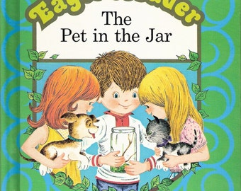 Eager Reader The Pet in the Jar Vintage Golden Press Book Illustrated by Judy Stang