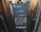 ABC Magnet Scrabble Letters