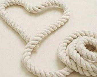 5 Yards 8mm Linen Cotton Rope Decorative Rope Cotton Cord 8mm Wide (T28)