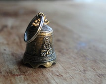 Tibet Antique Brass Bell (1) - Large 45mm Decorative Chinese Bell