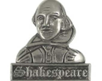 Shakespeare Lapel Pin