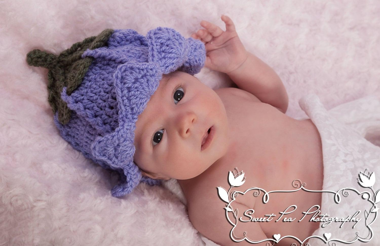 Crochet Pattern For Flower Fairy Primrose Hat : Crochet Fairy Hat Pattern Photo Prop or Fancy Dress Prop