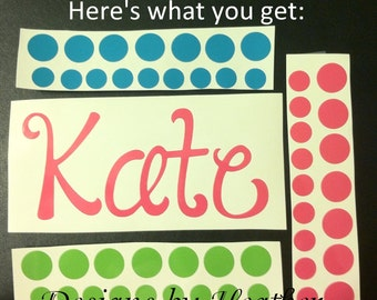 DIY Personalized Clipboard Kit (Clipboard and Ribbon not included)