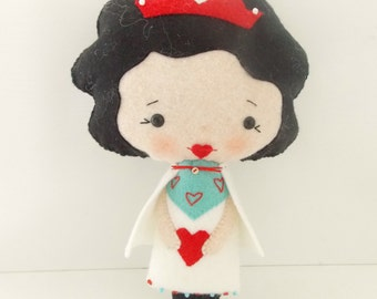 Alice in Wonderland -  Large Queen of Hearts Doll  - Fairy Tale Doll