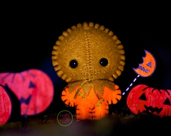 Felt Sam, Trick 'r Treat - Pocket Plush Toy