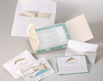 Wedding Invitations - Beach