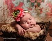 Baby Headband, Newborn Baby Flower Headband, Hair Accessories, Children
