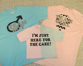 Customizable Gender Reveal Party 3 Pack Family Shirts