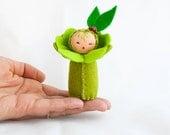 Teacher Appreciation Apple Felt Doll - Little Green Decoration