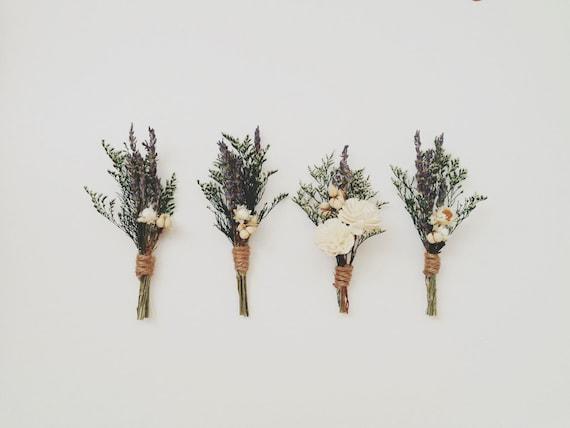lavender boutonniere-#31