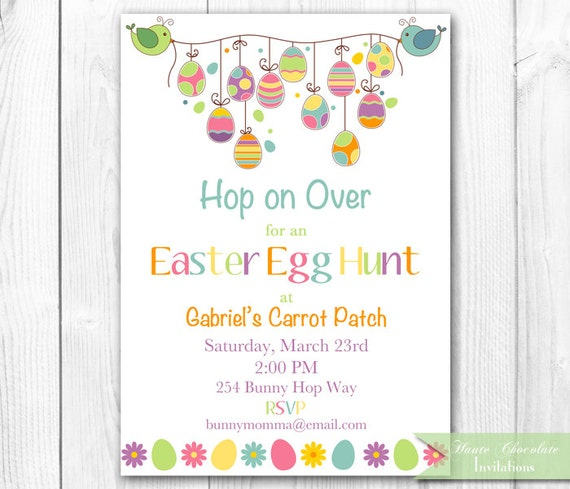 Comprehensive image regarding easter egg hunt invitations free printable