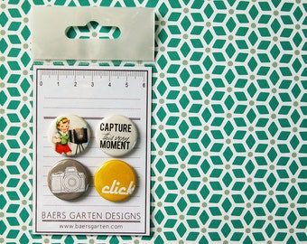 Badges / Flair buttons Click Click / Camera / Photograph