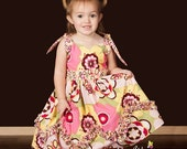 Sabrina Sue Retro Party Dress, Sizes 18m, 2T, 3T, Custom colors, you get to choose. Larger sizes available- up to size 12