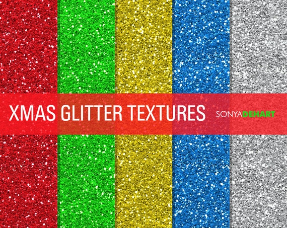 80% OFF SALE Glitter Digital Paper Glitter Textures Printable Paper Pack Christmas Glitter Instant Download