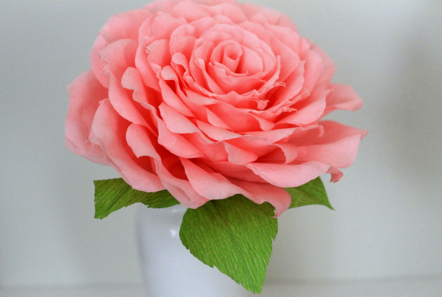 Large paper rose large paper flower for weddingglamelia zoom dhlflorist Choice Image