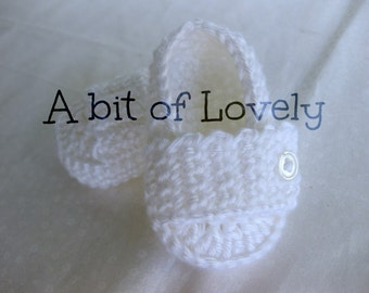 Baby Boy Christening Baptism Blessing Shoes White  - YOUR choice size - (newborn - 12 months) - photo prop - children