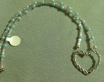 Customizeable Glass Pearl Necklace