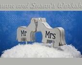mr and mrs Love Donkeys cake topper, custom, love Donkey, party favor, shower favors, wedding, home decor, spring decor