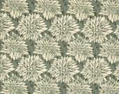 HUGE SALE- 1 Yard Fabric-Dahlia in Green by Ty Pennington Fall Impressions