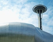 Space Needle print or postcard