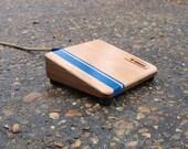 Walnut/Mahogany Shoe Box - A Stompbox by Index Drums