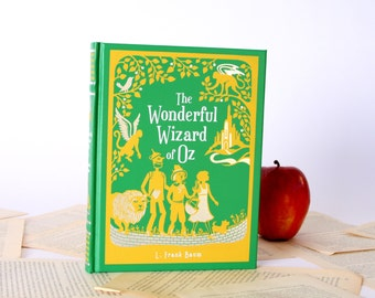 Kindle Cover or Nook Cover- Ereader Case made from a Book- Wizard of Oz
