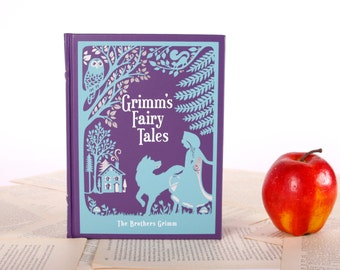 Kindle Cover or Nook Cover- Ereader Case made from a Book- Grimms Fairy Tales