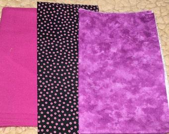 Violet Cotton Fabric