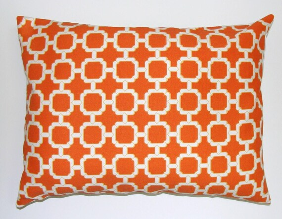 Orange Pillow Sale.12x18 or 12x16 inch.Orange Lumbar Pillow Cover.Decorative Pillows.Orange Outdoor.Indoor.Outdoor.Housewares.Outdoor Orange