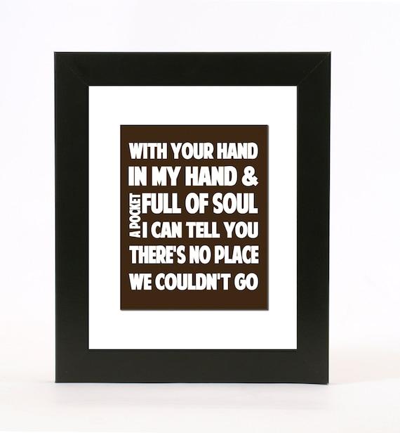 Justin timberlake mirrors lyrics wall art 8x10 print custom for Mirror justin timberlake lyrics