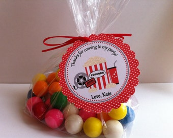 Movie Night Themed - Party Favor Bags