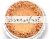 "Mineral Blush Sample - ""Summerfruit"" (natural medium peach with hint of gold sheen) - Vegan"