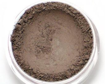 "Matte Taupe Eyeshadow - ""Mink"" - Gray Brown Vegan Mineral Eyeshadow Net Wt 2g Mineral Makeup Eye Color Pigment"