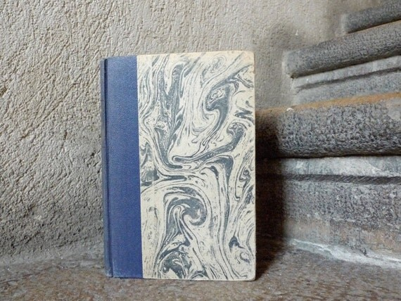 Artist Journal, Vintage Sketchbook, Upcycled Notebook, Mixed Paper Journal, French Vintage Book