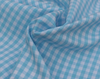 "1/4"" Cotton Gingham, Color Taffy, 1 yard"