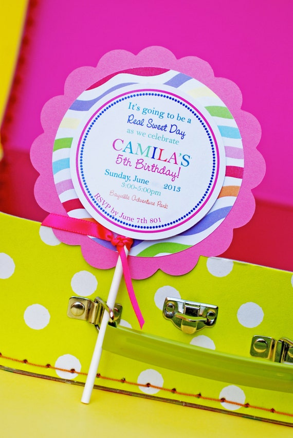 Candyland Party Invitations with perfect invitations ideas