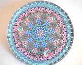 Geometric Large Mandala Plate, Candle Holder, Cookie dish, dessert dish, Fruit dish
