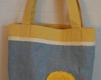 Playful Duckie Tote/Diaper Bag