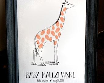 Giraffe Fingerprint Guest Sign-In