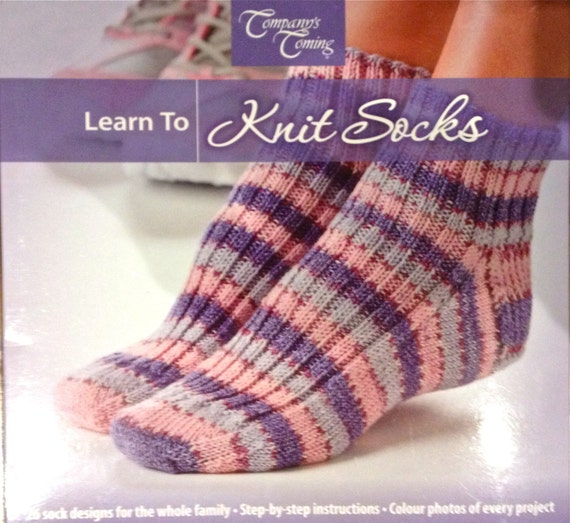Learn to Knit Socks instruction book knitting patterns for