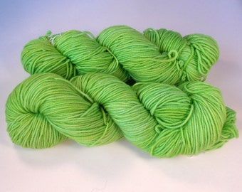 Absinthe on Octosport  SW Merino Hand dyed Sport weight  yarn